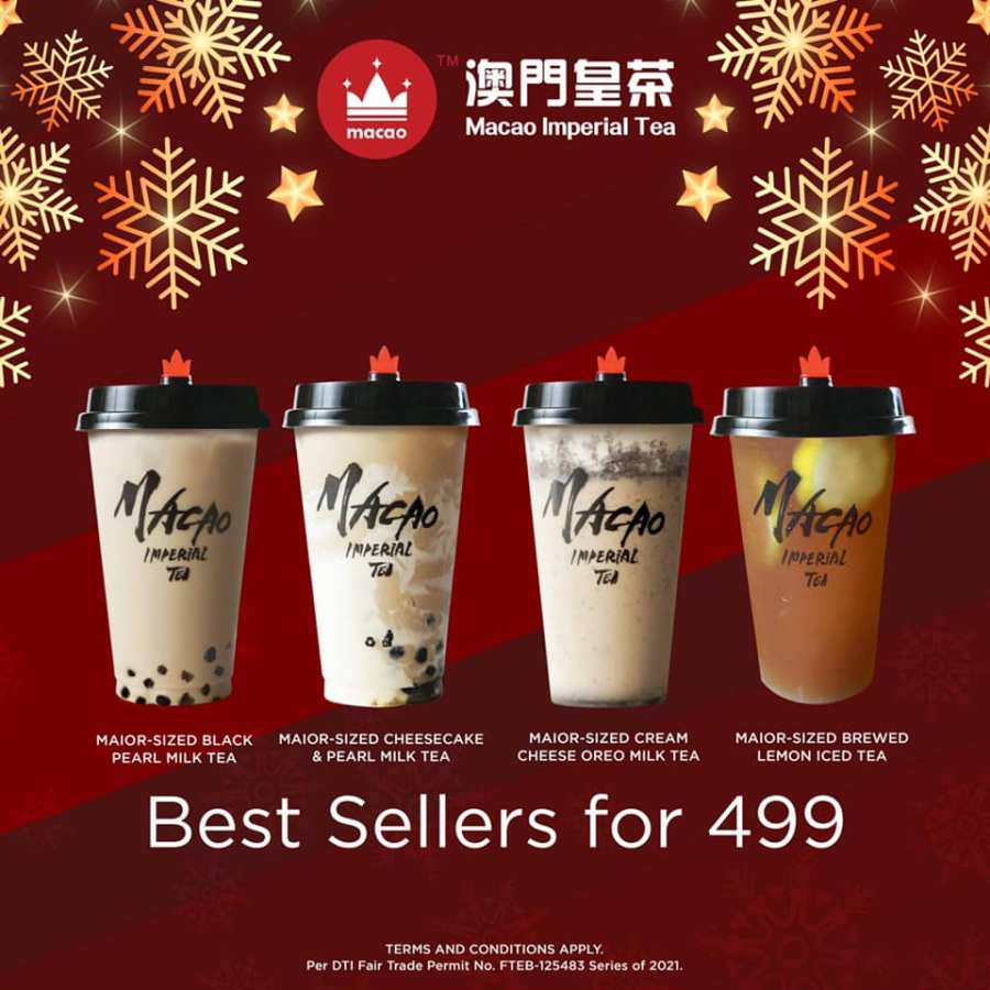 Macao Imperial Tea Promo Early Christmas Treats Best sellers for 499