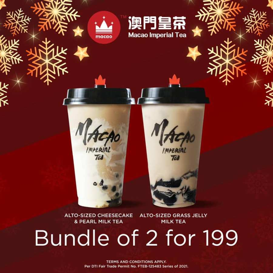Macao Imperial Tea Promo Early Christmas Treats Bundle of 2 for 199