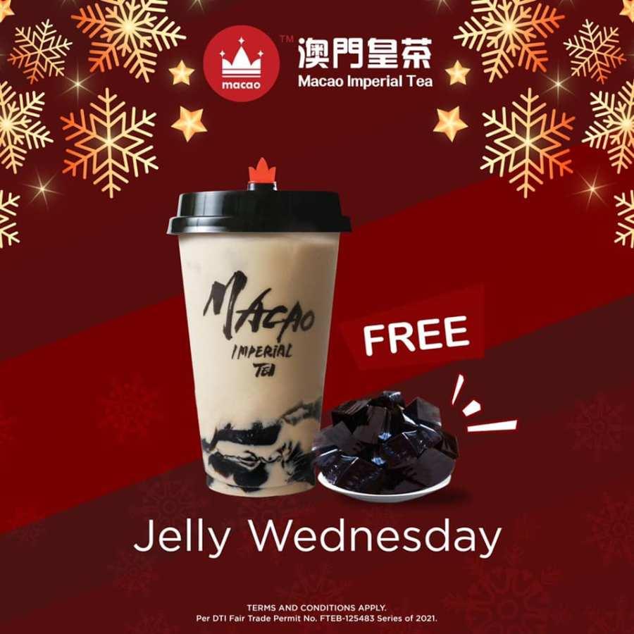 Macao Imperial Tea Promo Early Christmas Treats Jelly Wednesday