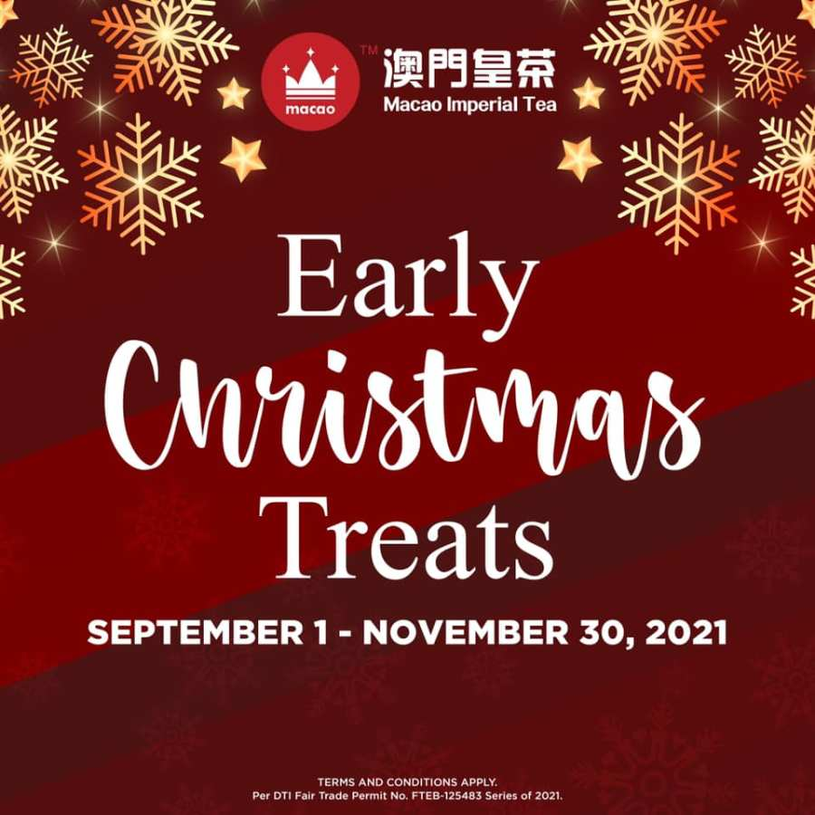 Macao Imperial Tea Promo Early Christmas Treats
