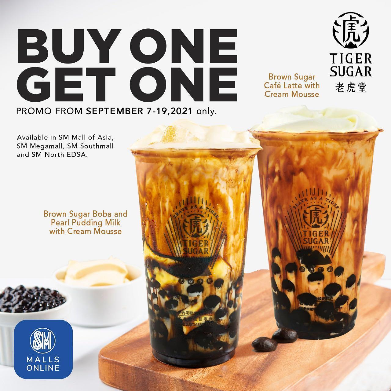 Tiger Sugar Buy 1 Get 1 SM Malls Online