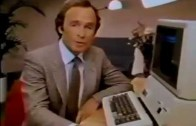 Apple II Ad mit Dick Cavett – Electronic Worksheet (1981)