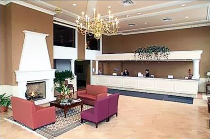 Ambassador hotel lobby construction