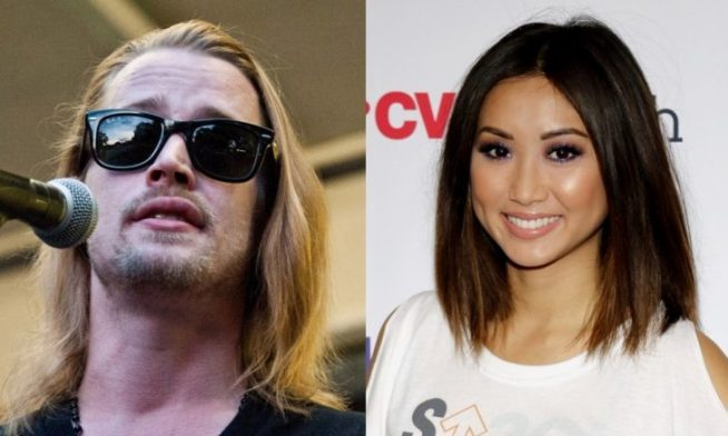 Cupid's Pulse Article: Celebrity Couple News: Macaulay Culkin Steps Out with Brenda Song in Paris