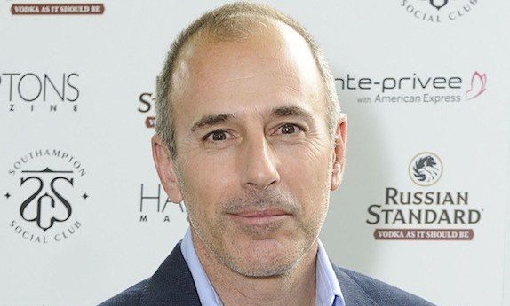 Cupid's Pulse Article: Celebrity News: Matt Lauer Fired from NBC News for 'Inappropriate Sexual Behavior'