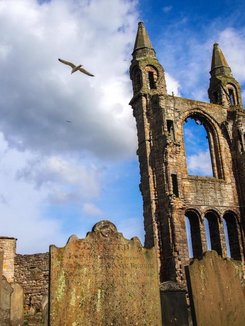 Škótsko: Katedrála v St. Andrews