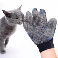 Manusa pentru inlaturarea parului si masarea pisicii