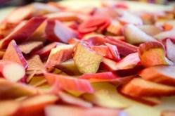 cupcakes med rabarber og ingefær
