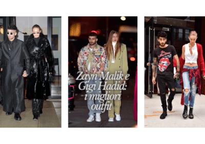 Zayn e Gigi: i migliori outfit di coppia