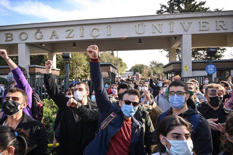 Erdogan contro le proteste universitarie
