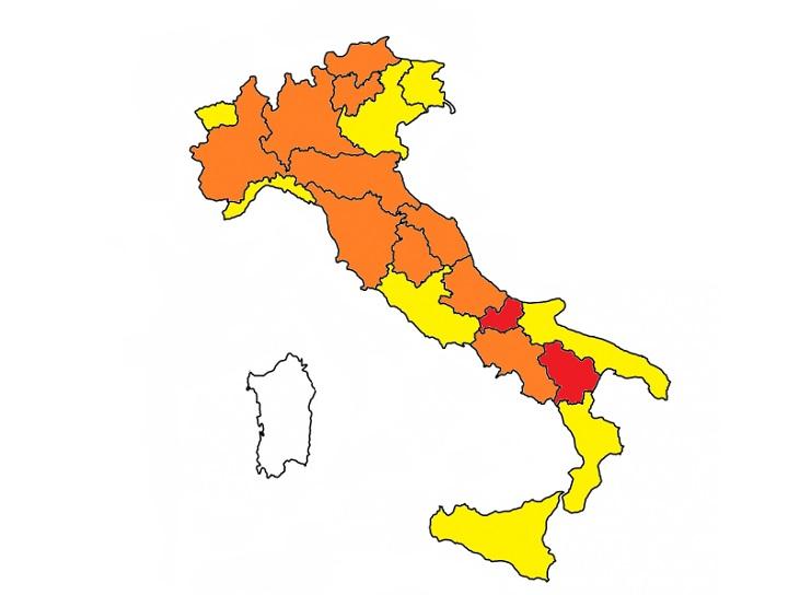 Zona bianca in Sardegna: cos'è?
