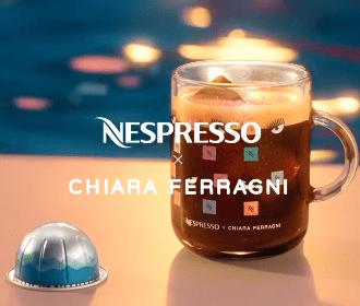 Chiara Ferragni x Nespresso: arriva la limited edition della più grande influencer italiana, ed è polemica sui social