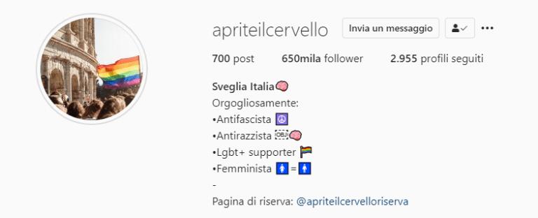 """Come """"Aprite il cervello"""", pagina antifascista e femminista, ha umiliato Giorgia Meloni"""