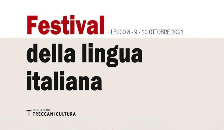Treccani: a Lecco, dall'8 al 10 ottobre, il Festival della lingua italiana