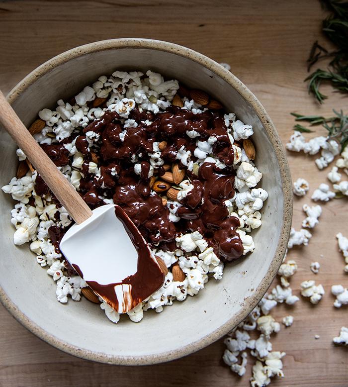 Dark Chocolate Popcorn With Sea Salt A Cup Of Jo