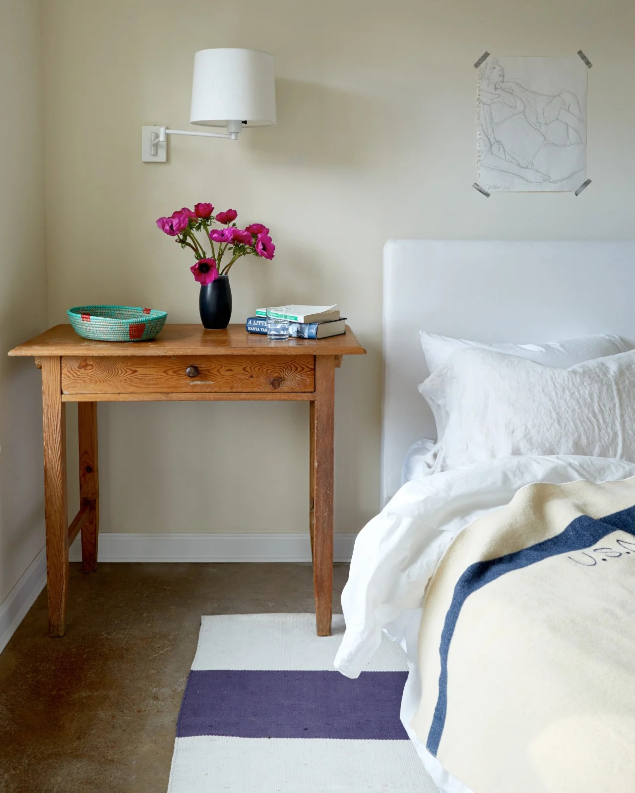 Image of a bedroom from Cup of Jo website