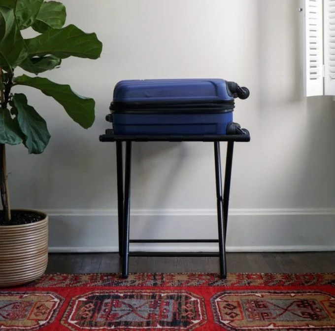 The Best Luggage Racks for Houseguests