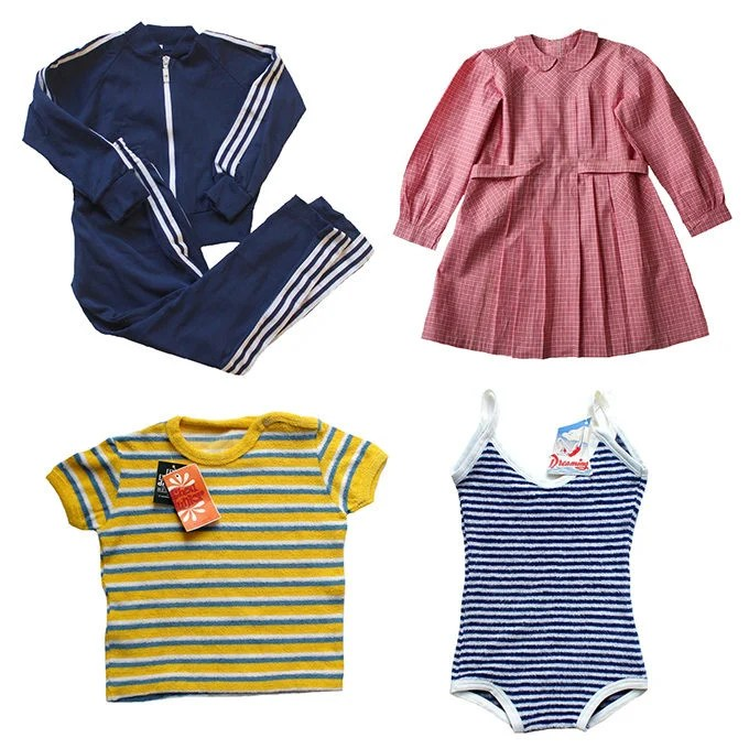 French Vintage Kids' Clothes