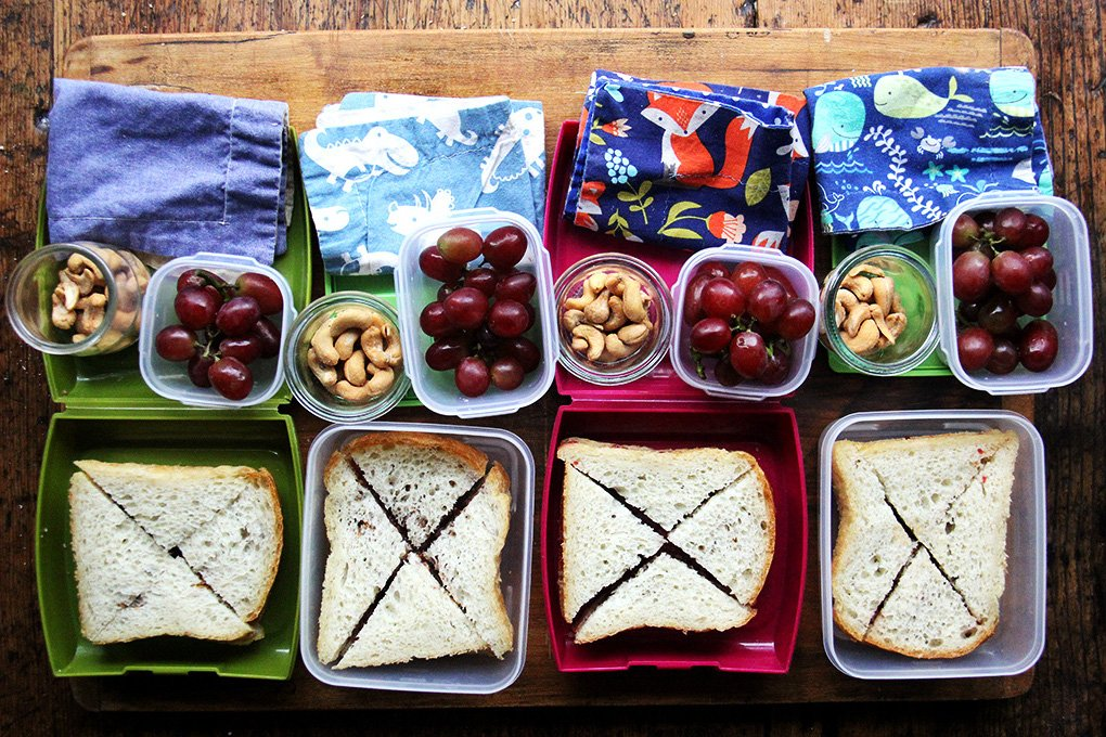 What Food Geniuses Pack For Their Kids School Lunches A Cup Of Jo
