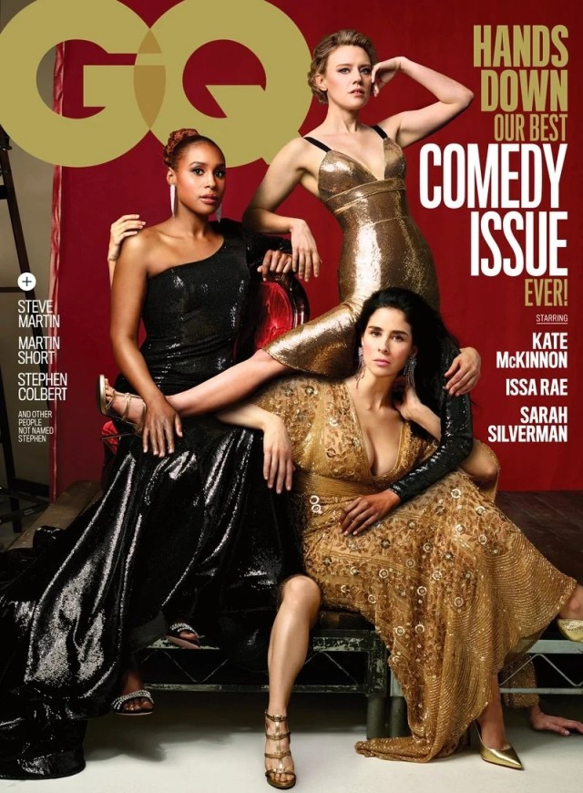 GQ comedy issue cover