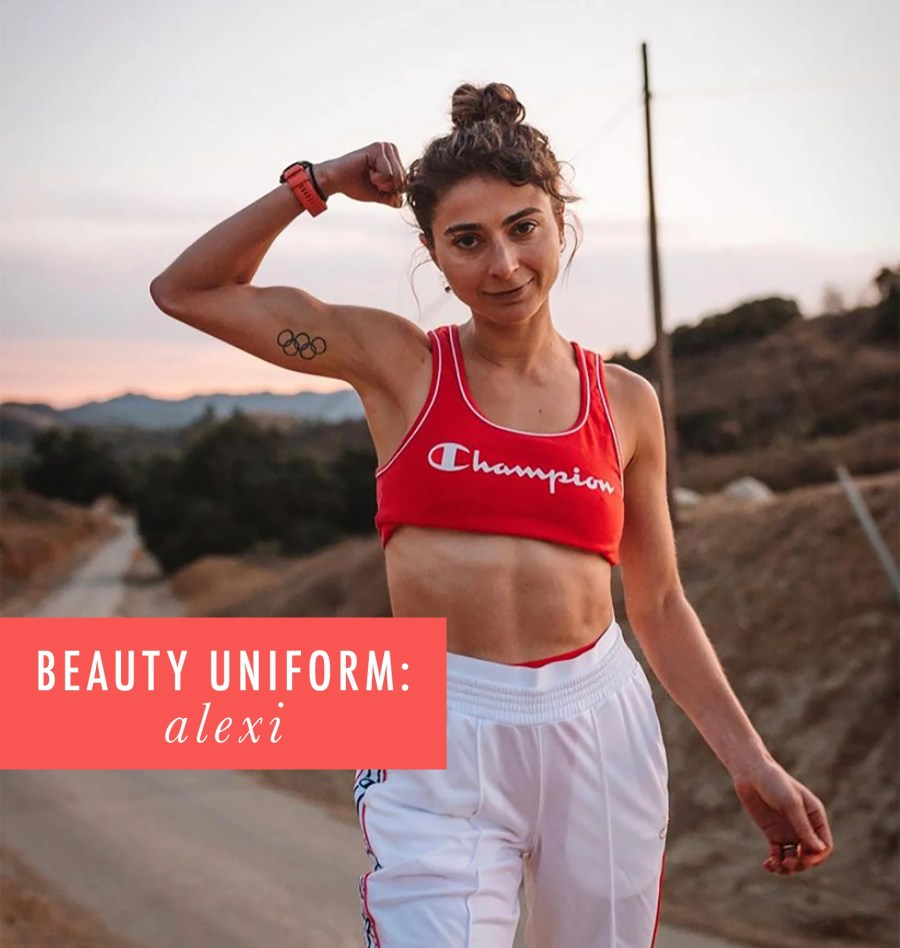 My Beauty Uniform: Alexi Pappas