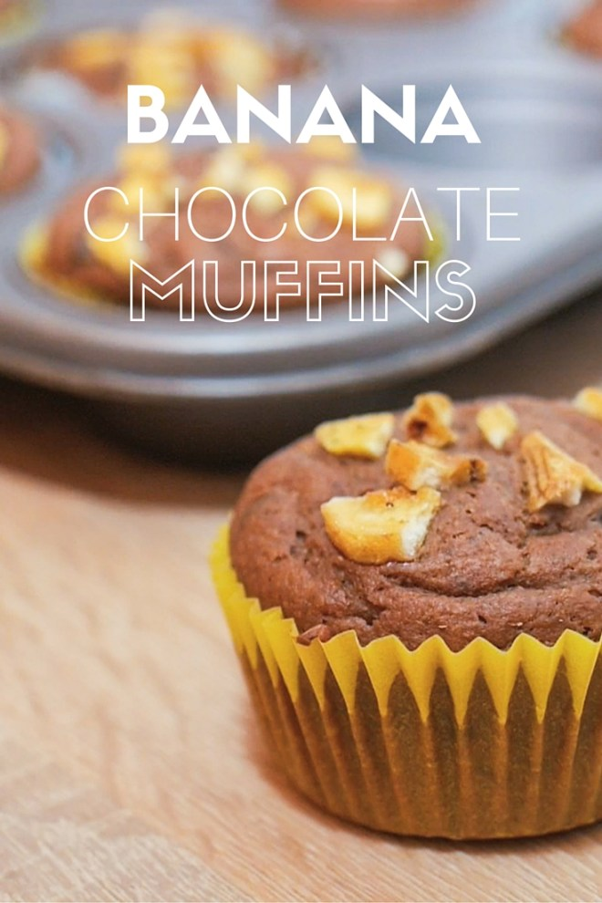 chocolate banana muffins (1)