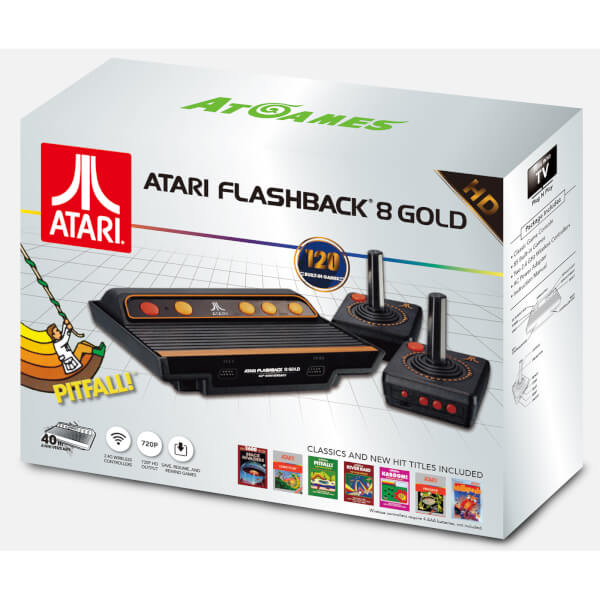 Best consoles for retro gaming 2017 - Atari Flashback 8