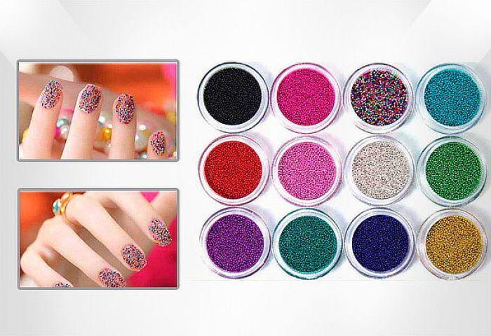 Microbeads Caviar Para Uñas Y Cintas Decorativas Cuponaticcomco