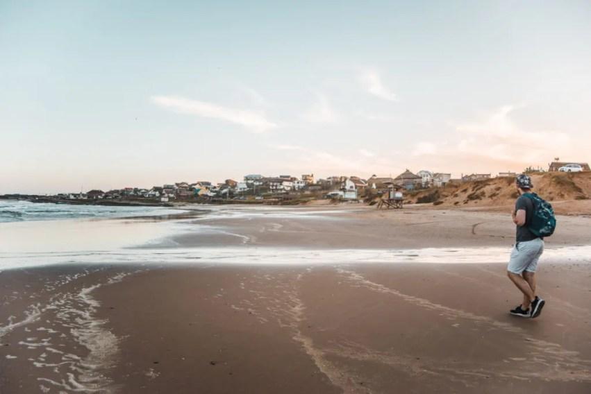 Beach in Punta del Diablo uruguay where to stay | South America travel guides
