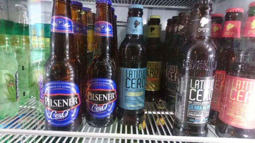 Latidud Cero Ecuador craft beer