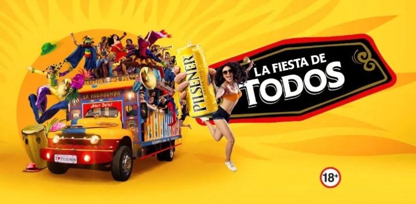 Pilsener Ecuador beer guide | Fiesta de todos carnaval cerveza SABMiller