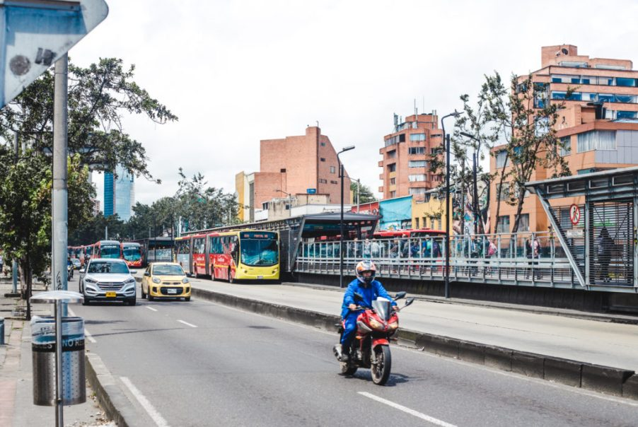 Transmilenio on caracas - Where to stay in bogota neighbourhoods Colombia