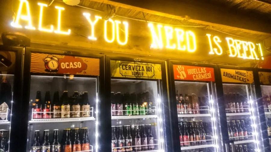 el sindicato zona t zona rosa bogota craft beer | where to stay in Bogota, Colombia | bogota neighbourhoods