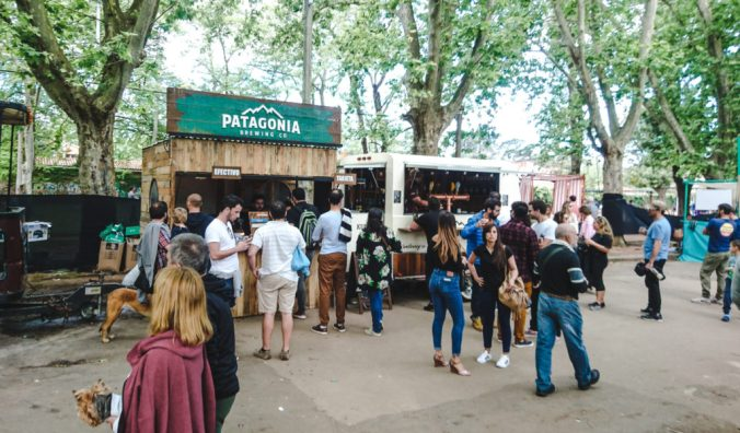 Best Craft Breweries in South America | Patagonia Cerveza beer truck Argentina | The Beer Guide | Travel guides by Cuppa to Copa Travels