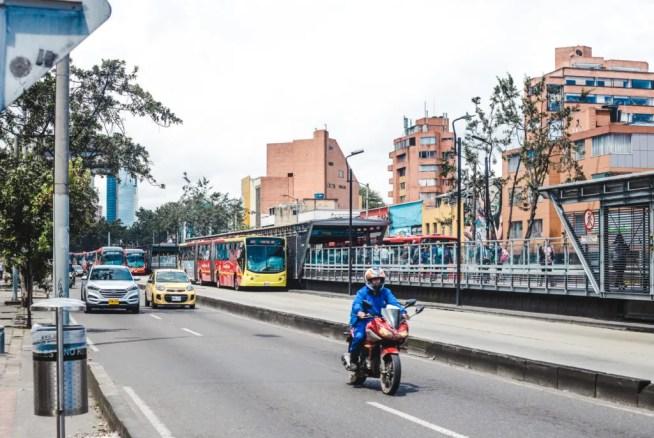 Transmilenio transmi app bus system bogota colombia transport how to get around city