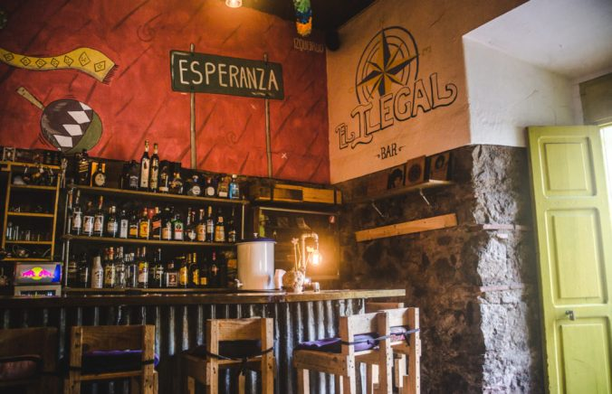 The best bars in Antigua, Guatemala   Nightlife Antigua   El Ilegal bar   Latin America travel guides by Cuppa to Copa Travels