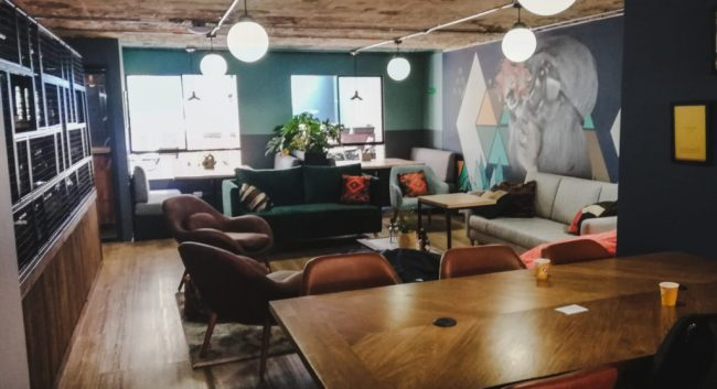 Selina co-working space chapinero Bogotá Colombia | best locations in Bogotá for Digital nomads