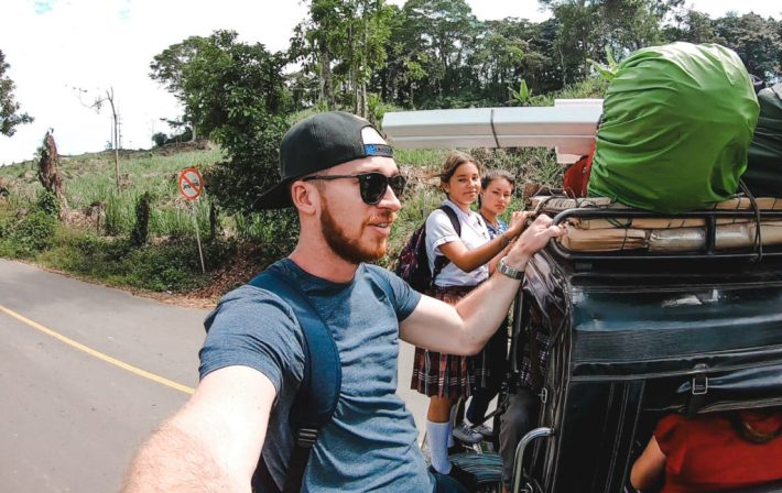 Oiba 4x4 bus terminal | How to get to Las Gachas at Guadelupe from San Gil or Barichara | Colombia Travel Guides by Cuppa to Copa Travels