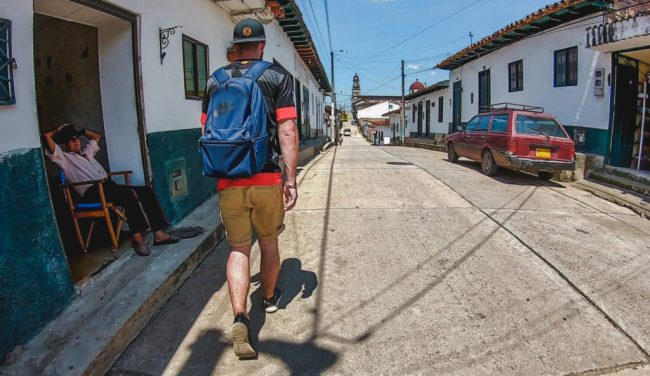 Pueblo Guadalupe, Santander, Colombia | Travel guide to Guadalupe, Colombia off the beaten path | South America trip by Cuppa to Copa Travels