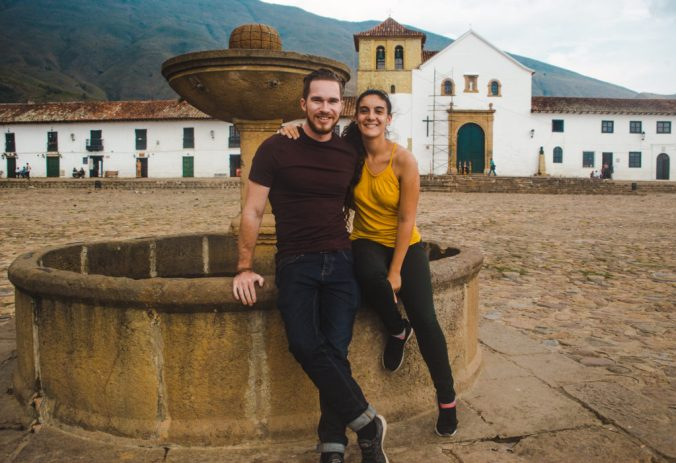 Plaza Major Villa de Leyva, Colombia | Bogotá breaks | traditional Colombian town pueblo | Travel guides by Cuppa to Copa Travels