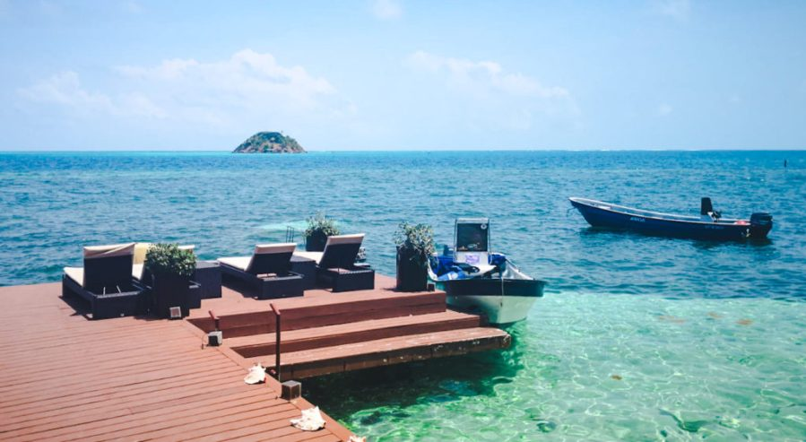 Deep Blue Hotel Crab Cay Cayo Cangrejo Isla de Providencia | Colombia travel guides by Cuppa to Copa Travels