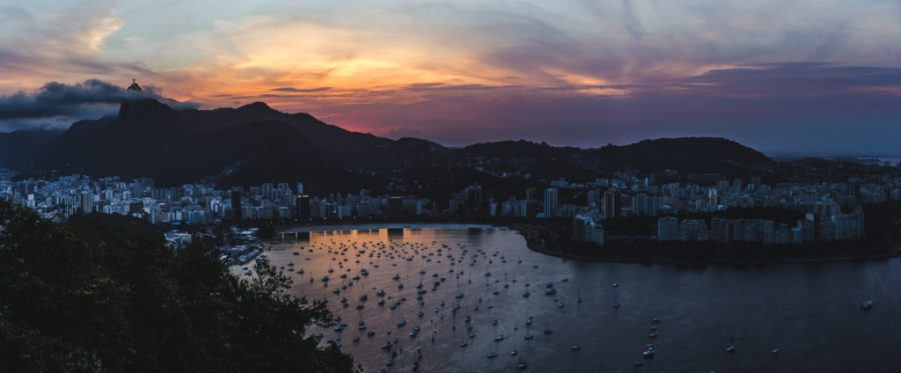 sunset Best time to visit Sugarloaf Mountain Rio de Janeiro Cuppa to Copa Travels South America Guides