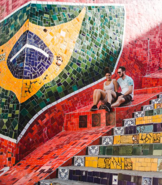 Selaron steps Lapa Best time to visit Sugarloaf Mountain Rio de Janeiro Cuppa to Copa Travels South America Guides