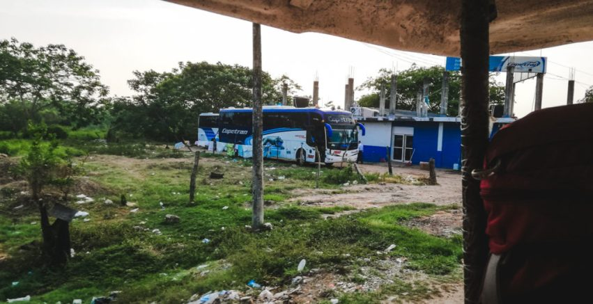 Copetran bus terminal How to get to Mompox Colombia Magdalena travel guide | South America travel off the beaten path Colombia