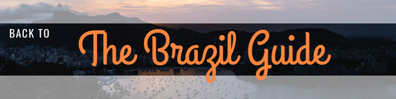 Brazil guide Rio de janeiro things to do best time to visit to sugarloaf mountain
