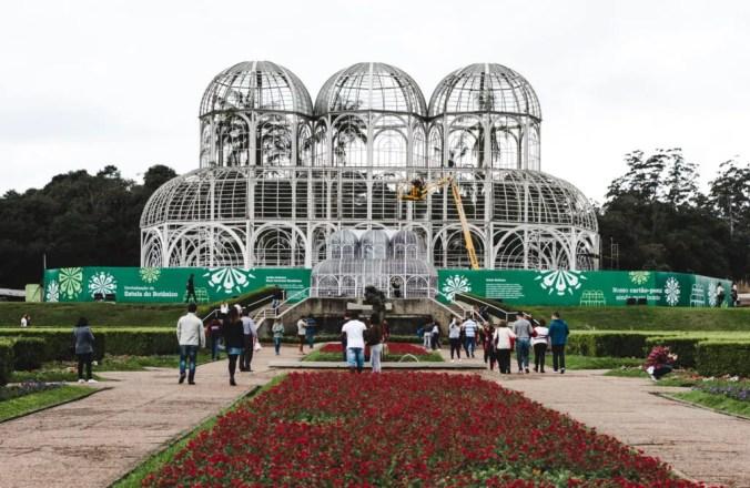 jardim botanico botanical gardens Curitiba Brazil travel guide South America backpacking