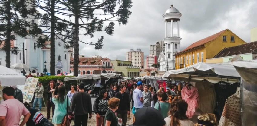 Largo da Ordem market artesanal