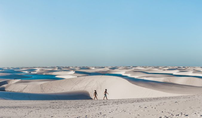 Lencois Maranheses Sao Luis sand dunes lagoons Cuppa to Copa Travels South America Guides 3 months in Brazil trip
