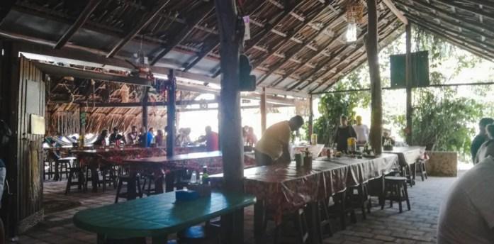 Atins shrimp restaurant luiza antonio