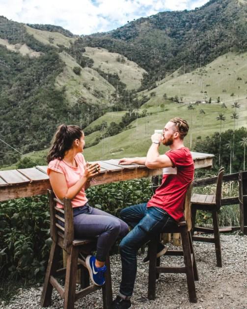 Cocora valley hike from Filandia, Colombia's coffee region alternative to Salento in Quindio